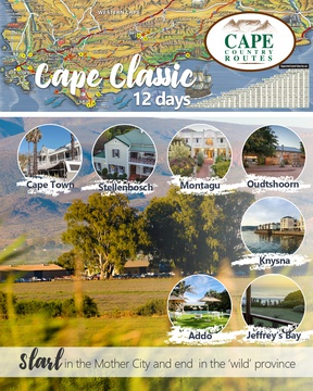 Cape Country Routes - Cape Classic 12-day Tour Package - Road Trip