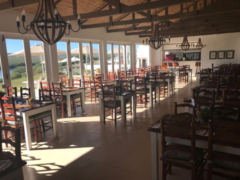 the restaurant at de hoop land based whale watching
