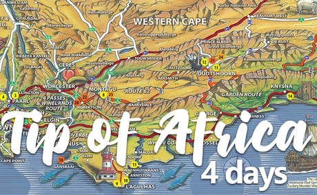 Tip of Africa 4-Day Tour Package