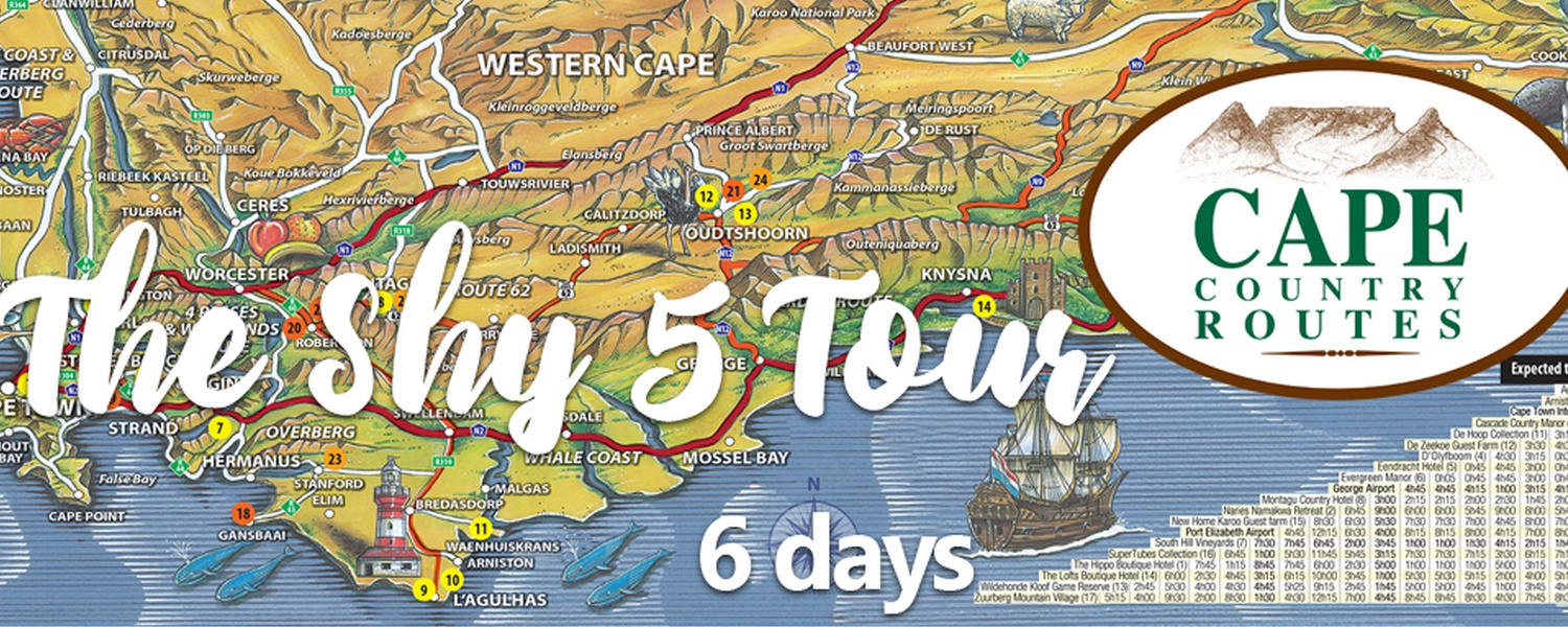The 5 Shy 6-Day Tour Package