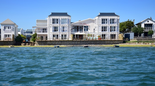 view of The Lofts Boutique Hotel in knysna south africa