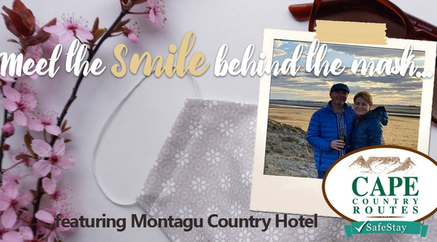 Meet the smile behind the mask featuring Montagu Country Hotel