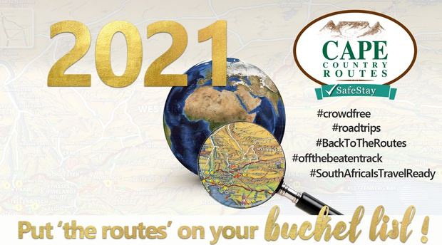 Cape Country Routes on the 2021 Travel Bucket List