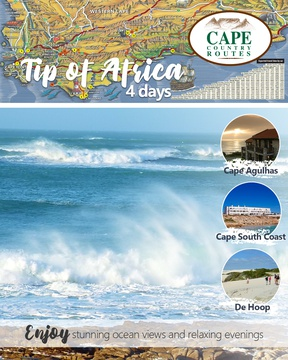 Cape Country Routes - Tip of Africa 4 day route package