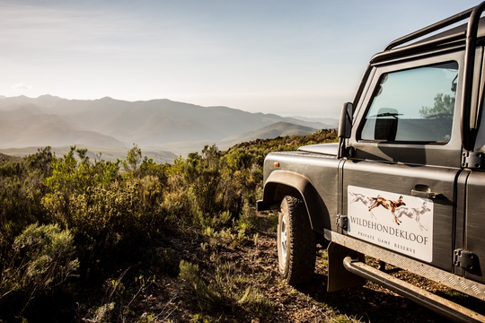 game drive included at Wildehondekloof Private Nature reserve