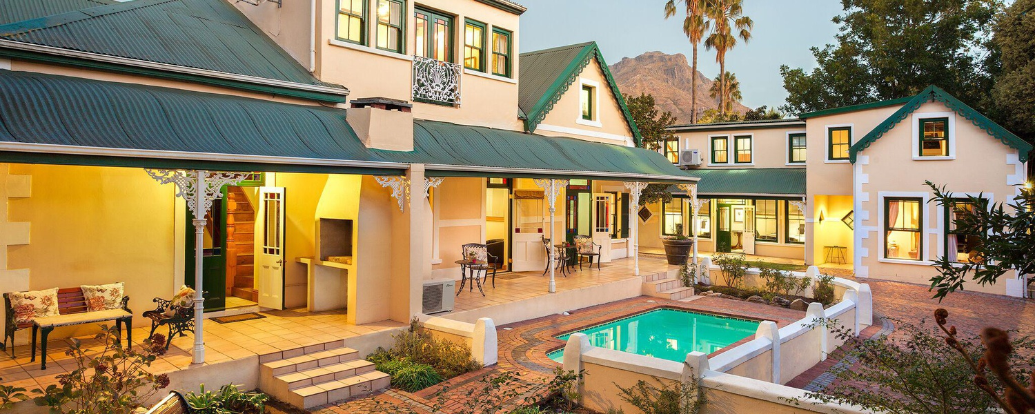 Luxury Stellenbosch Guesthouse Accommodation