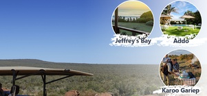 Cape Country Routes - The 'Big 5' - 'Shy 5' Tour 8-day Tour Package