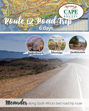 Cape Country Routes - Route 62 Road Trip Package
