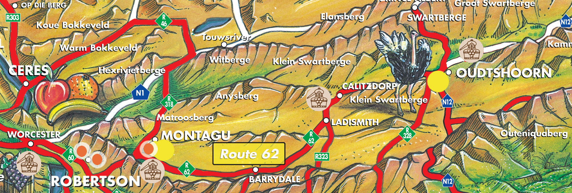 Route 62   Cape Country Routes